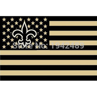 NFL New Orleans Saints Stars & Stripes Flag