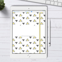 Digital Bullet Journal for GoodNotes App, GoodNotes Digital Bullet Journal with hyperlinks, iPad Pro Bujo Journal, Tablet Digital Planner