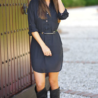 Our Favorite Fall Tunic: Black | Hope's