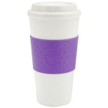 Copco Acadia Double Walled Insulation Hot or Cold Travel Mug 16 Ounce Transl ...