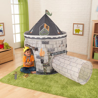 KidKraft Castle Tent with Tunnel in Gray