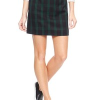 Factory plaid skirt