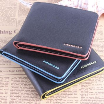 New Design Leather Bifold mens wallet