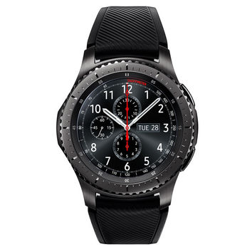 Gear S3 frontier 46mm smartwatch (Bluetooth), Dark Gray
