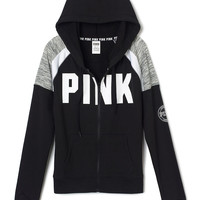 Perfect Full Zip Hoodie - PINK - Victoria's Secret