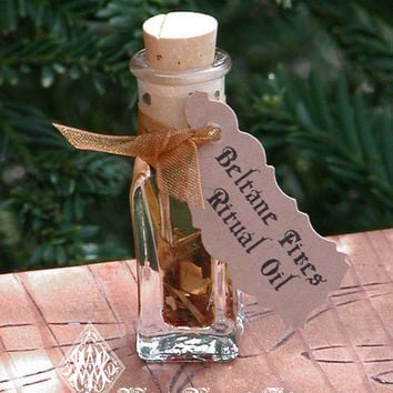 Beltane Fires Sacred Smoke Ritual Spell Oil . Smokey Nine Sacred Woods, Calendula and Rose, Fertility Rites, Sexual Energy, Fire