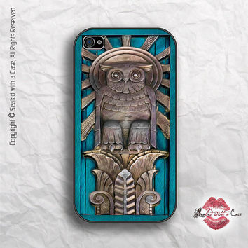 Owl Relief - iPhone 4 Case, iPhone 4s Case and iPhone 5 case
