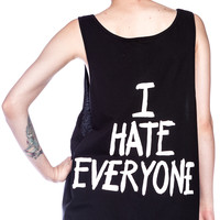 Jac Vanek I Hate Everyone Favorite Unisex Tank Top
