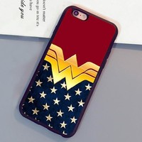 Wonder Woman  Printed Mobile Phone Cases6 6S Plus 7 7 Plus 5 5S 5C 4S