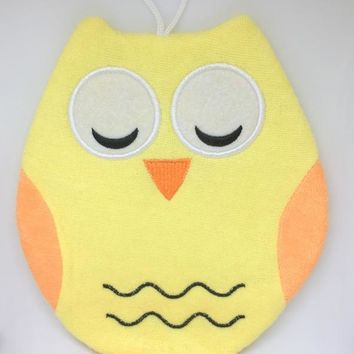Ollie the Owl - Terry Bath  Mitt