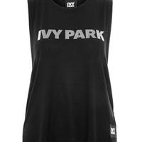 Silicon Logo Tank Top by Ivy Park