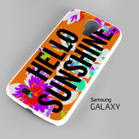 Hello Sunshine Samsung Galaxy S3 S4 S5 Note 3 Cases - Galaxy