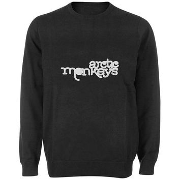 arctic monkeys sweater Black and White Sweatshirt Crewneck Men or Women for Unisex Size with variant colour
