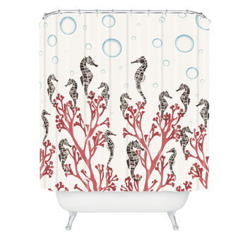 best seahorse shower curtain products on wanelo