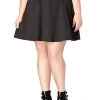 Plus Oversized Bow Skirt