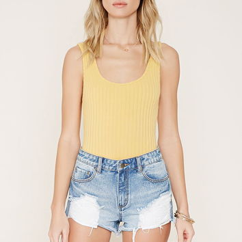 Ribbed Knit Bodysuit | Forever 21 - 2000185979
