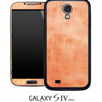 Vintage Orange Texture Skin for the Samsung Galaxy S4, S3, S2, Galaxy Note 1 or 2