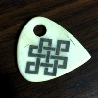 Endless Knot Cow Bone Necklace