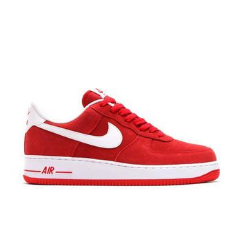 auguau NIKE AIR FORCE 1 ' 07 - UNIV RED/WHITE