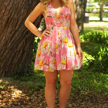 Beauty & The Blossom Dress: Multi - Hope's Boutique