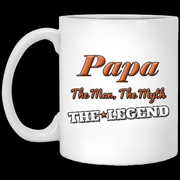 Papa The Man The Myth The Legend Perfect Birthday Or Fathers Day Gift For Dad, Grandpa, Stepfather Or Husband