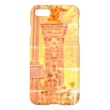 Quai d'Orsay Pont Alexandre III Paris IPhone Case