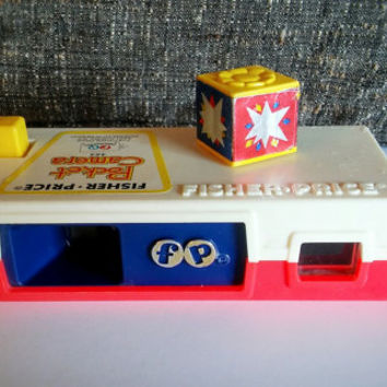Vintage Fisher Price Pocket Camera A Trip to The Zoo / Vintage Toy Fisher Price Kids Camera Zoo Animals