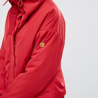 Love Moschino Survivor Rain Jacket at asos.com