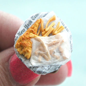 fish and chips ring