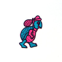 Turtle Applique Iron on Patch