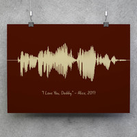 Custom Sound Wave, Voice Wave Print, Voice Wave, Personalized Wave, Custom Wave, Sound Wave Art, Sound Wave Print, Soundwave Art Print