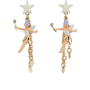 N2 by Les Néréides FLY WITH ME TINKER BELL EARRINGS