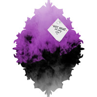 Caleb Troy Zero Visibility Radiant Orchid Baroque Magnet Board