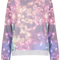 Fairy Lights Loungewear Top - Nightwear - Clothing - Topshop