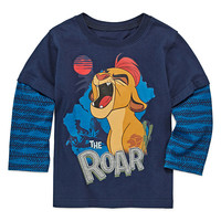 Okie Dokie® Mickey Mouse Long-Sleeve Tee - Toddler Boys 2t-5t - JCPenney