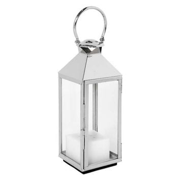Glass Lantern with Handle - M | Eichholtz Vanini