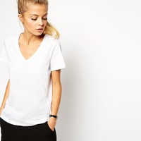 ASOS The V Neck T-Shirt at asos.com