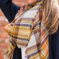 Autumn Air Scarf, Tan
