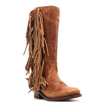 Liberty Black Boots~ Olympia Boot in Mossil Tan