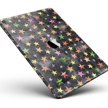 """Halloween Color Stars Full Body Skin for the iPad Pro (12.9"""" or 9.7"""" available)"""