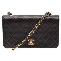 Chanel Vintage Quilted Full Flap Bag - What Goes Around Comes Around - Farfetch.com