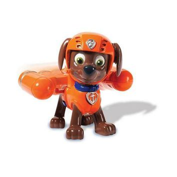Paw Patrol - Zuma Action Pack Pup and Badge