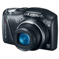 Canon PowerShot SX150 IS 14.1 MP Digital Camera with 12x Wide-Angle Optical Image Stabilized Zoom with 3.0-Inch LCD (Black) (OLD MODEL)
