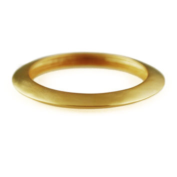 Kenneth Jay Lane Goldtone Slip On Bangle Bracelet