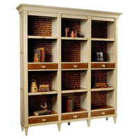 Champlain Bibliotheque, Toffee/Sand, Bookcases & Bookshelves