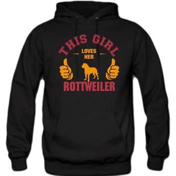 this-girl-loves-her-rottweiler-t-shirt-design hoodie