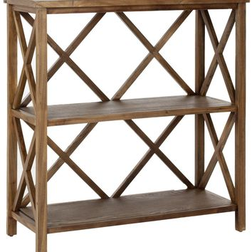 Liam Open Bookcase Oak