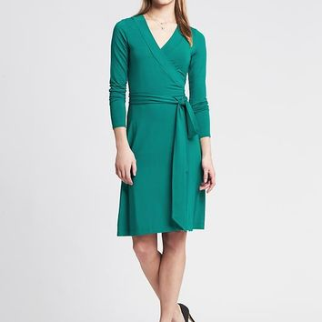 Banana Republic Womens Gemma Wrap Dress