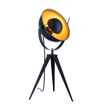 Euro Style Collection Madrid  Studio Tripod Table Lamp