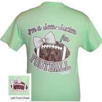 I'm a Seer-Sucker for Football Tee - Mint